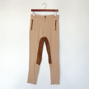 Zara Basic Tan/Brown  Leggings
